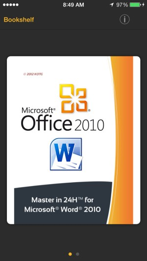 Master in 24h for Microsoft Word 2010 Ipa App iOS Free Download