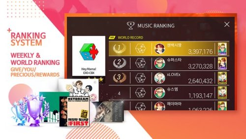 SuperStar SMTOWN Apk Game Android Free Download