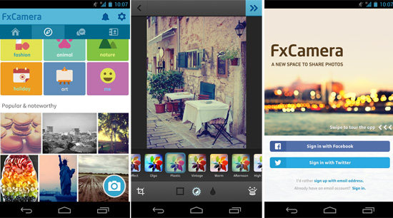 FxCamera App Android Free Download