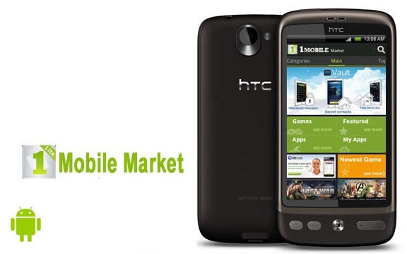 1Mobile Market HD App Android Free Download