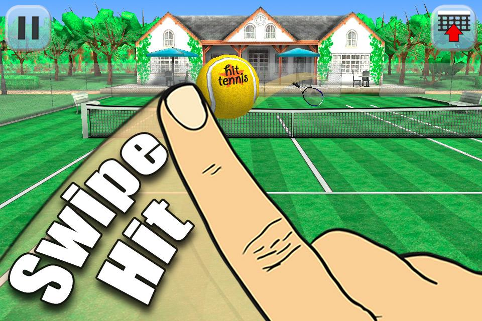 Hit Tennis 3 Game Android free Download