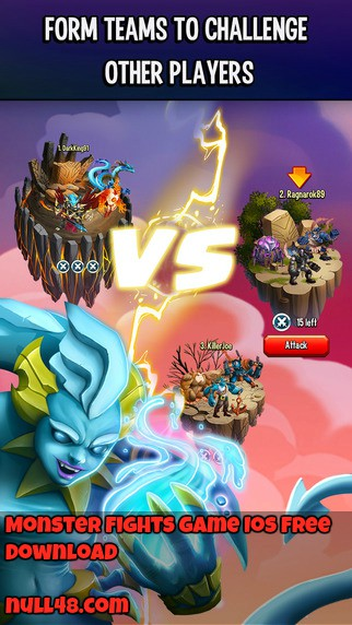Monster Fights Game Ios Free Download