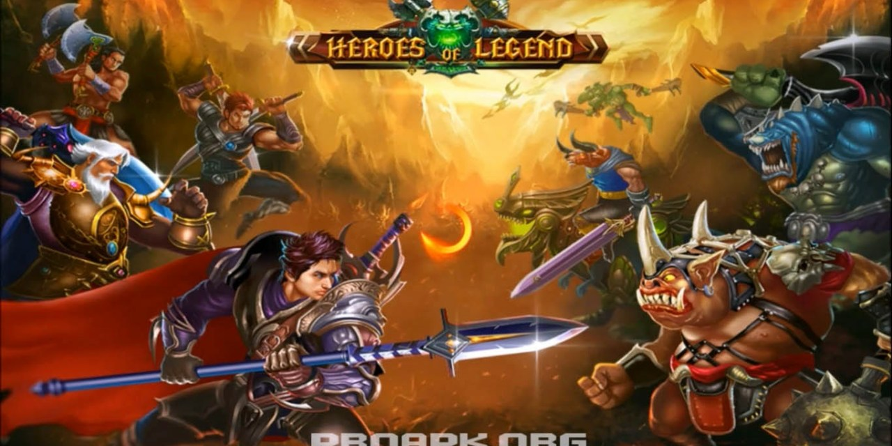Hero of Legend Castle defense Game Android Free download