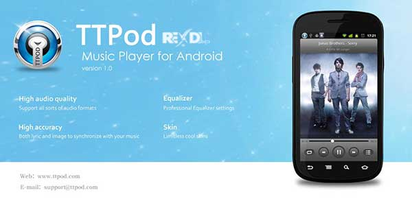 TTPod Android Free Download