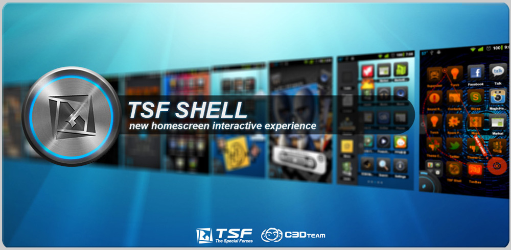 TSF Launcher 3D Shell App Android Free Download
