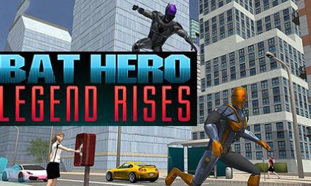 Bat Hero Legend Rises Game Android Free Download
