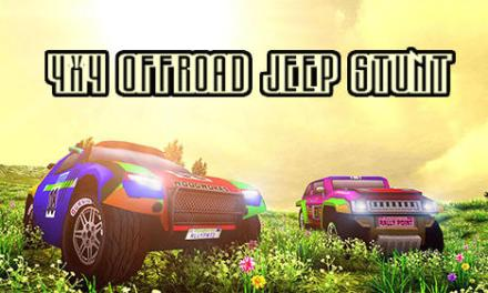 4×4 Offroad Jeep Stunt Game Android Free Download
