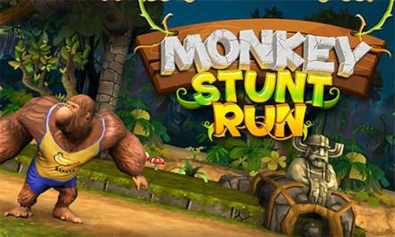 Monkey Stunt Run Game Android Free Download