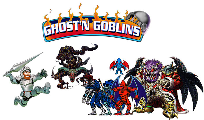 Ghosts'n Goblins Mobile Game Android Free Download