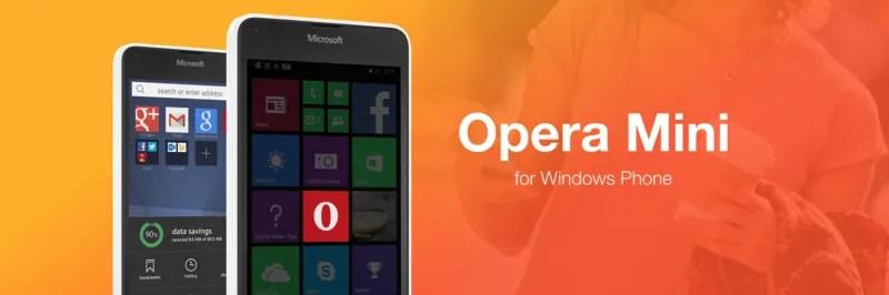 Opera Mini App Windows Phone Free Download