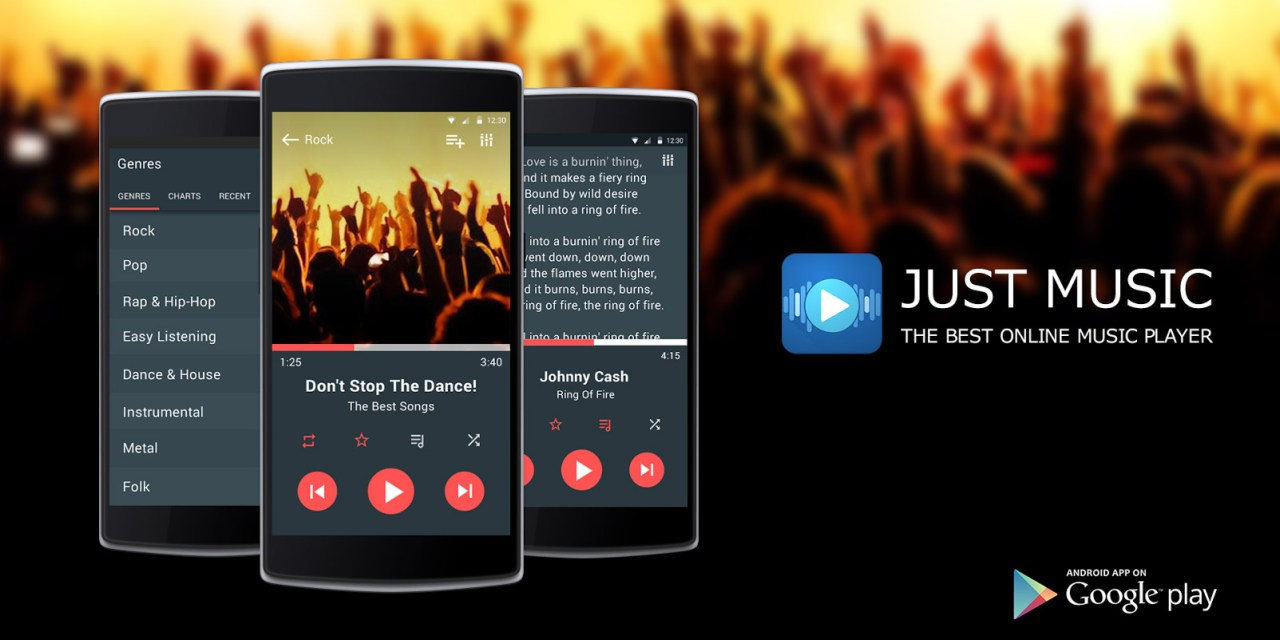 Just Music Player Pro App Android Free Download