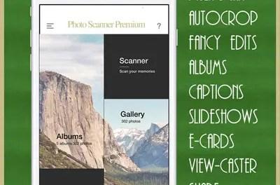 Photo Scanner Premium: Digitize Memories App Ios Free Download