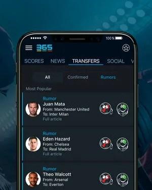 365Scores: Sports Scores Live Apk App Android Free Download