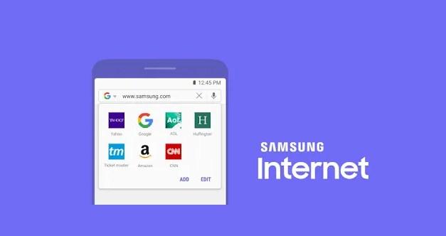 Samsung Internet Browser Apk App Android Free Download