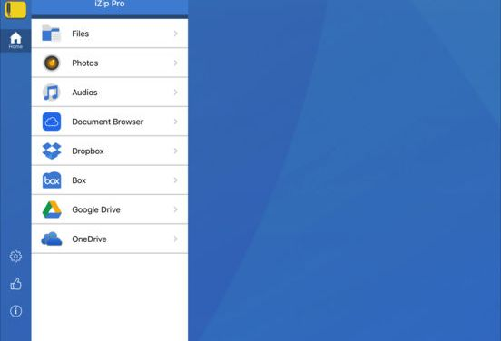 iZip – Zip Unzip Unrar Tool Ipa App iOS Free Download