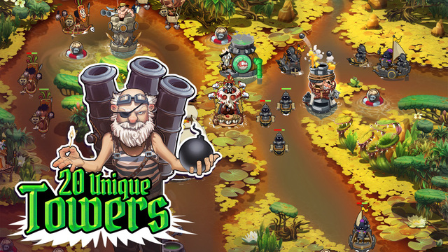 Pirate Legends TD Ipa Game iOS Download