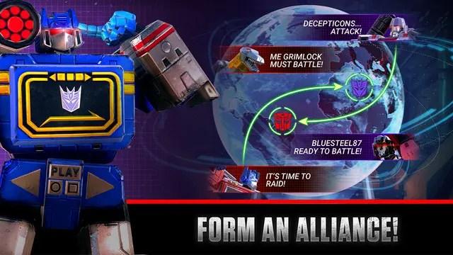 Transformers: Earth Wars Ipa Game iOS Download