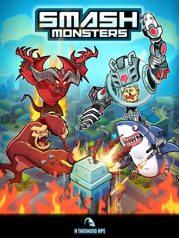 Smash Monsters - City Rampage Ipa Games iOS Download