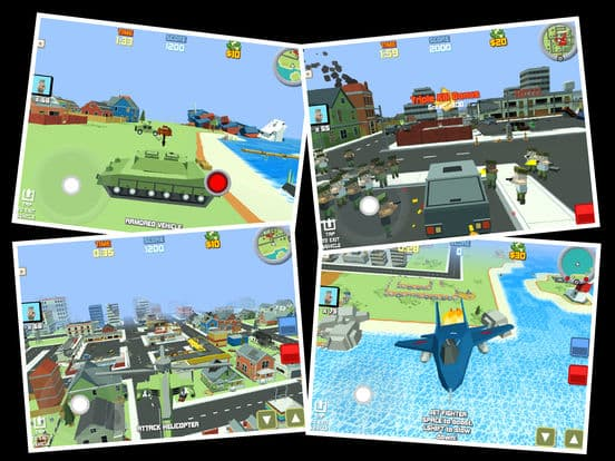 Blocky War – Cube City Defense Ipa Games iOS Download