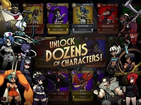 LINE Skullgirls Ipa Games iOS Download
