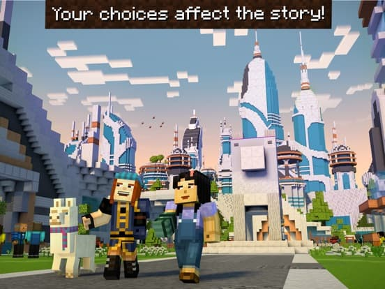 Minecraft: Story Mode – S2 Ipa Games iOS Download
