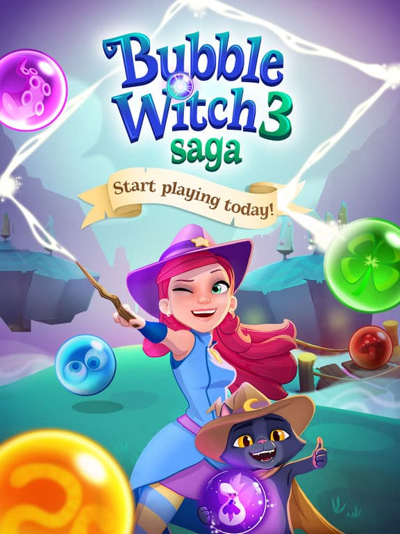 Bubble Witch 3 Saga iOS