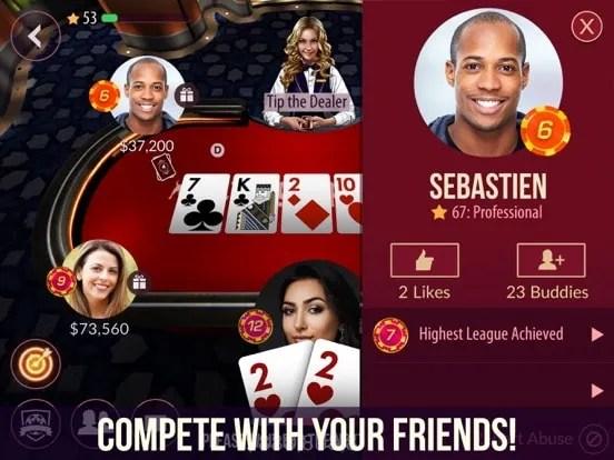 Zynga Poker - Texas Holdem iOS