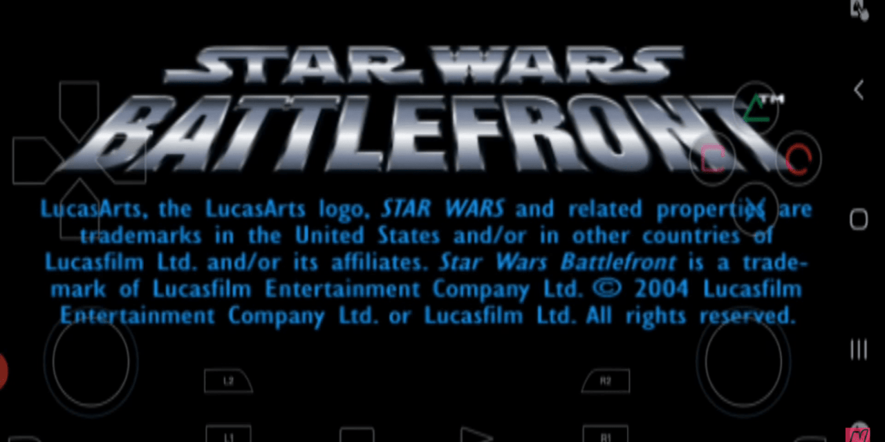 Star Wars: Battlefront 2004 For Android Free Download