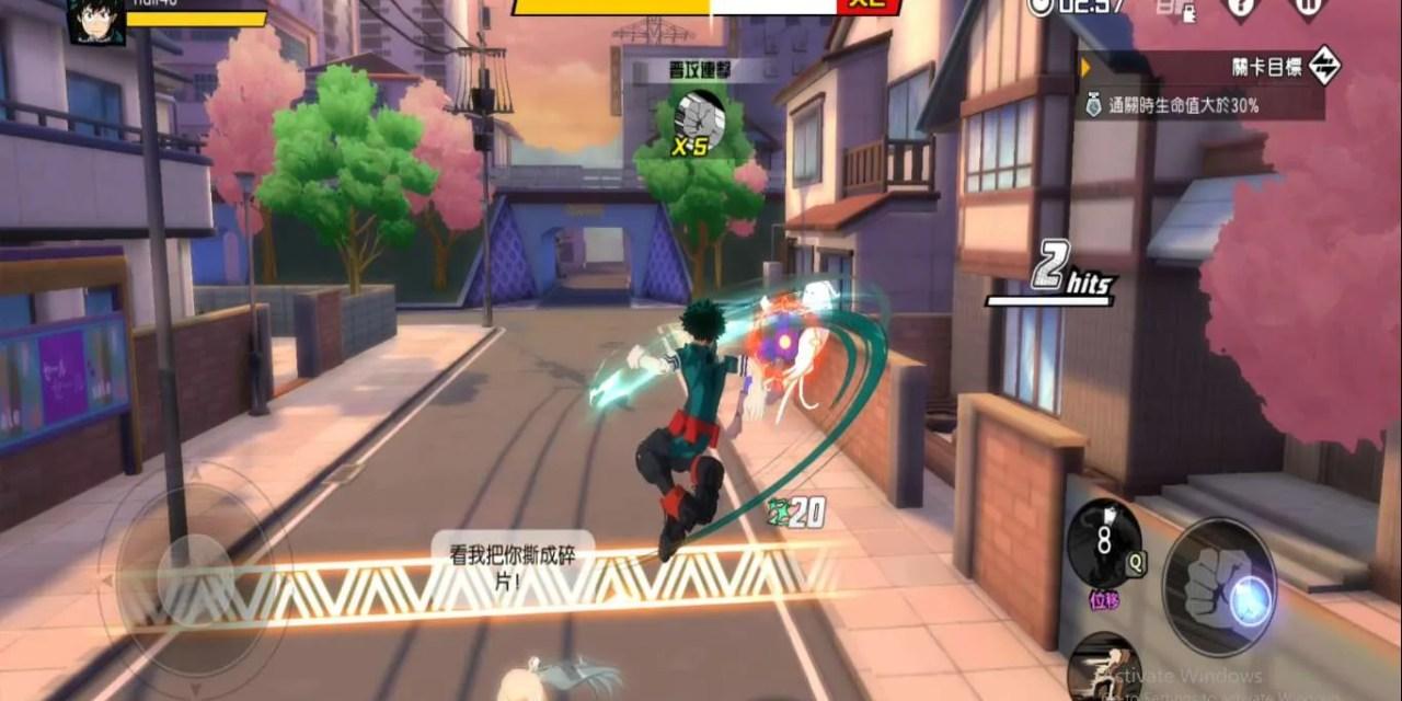 My Hero Academia: The Strongest Hero Apk OBB Download