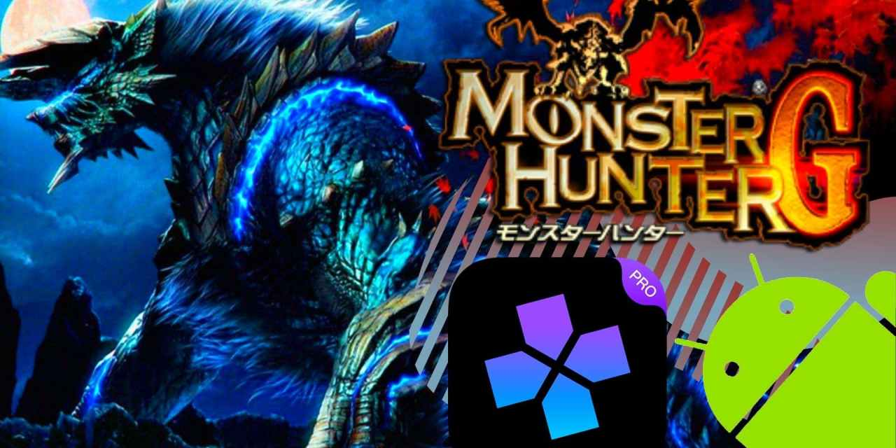 Monster Hunter G Game For Android With Ps2 Emulator