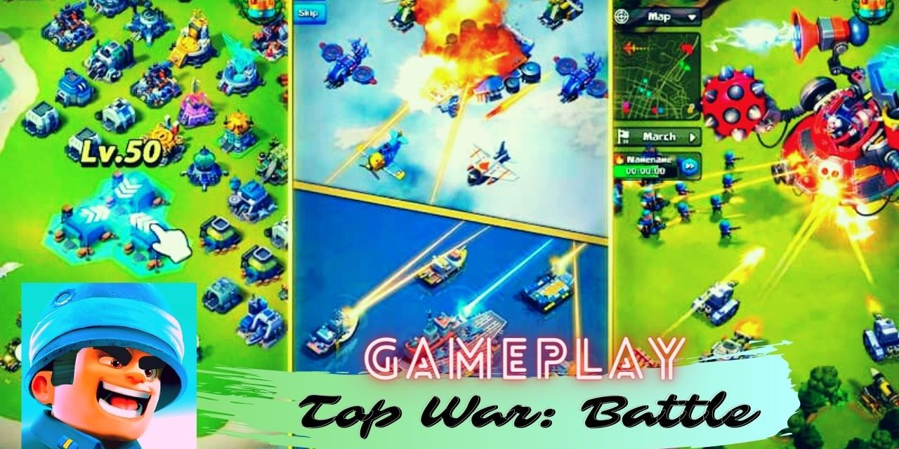 Top War: Battle Game For android