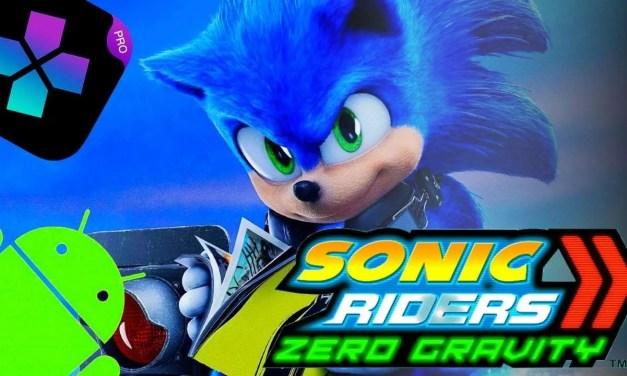 Sonic Riders: Zero Gravity Android On ps2 emulator Damon Ps2 PRO