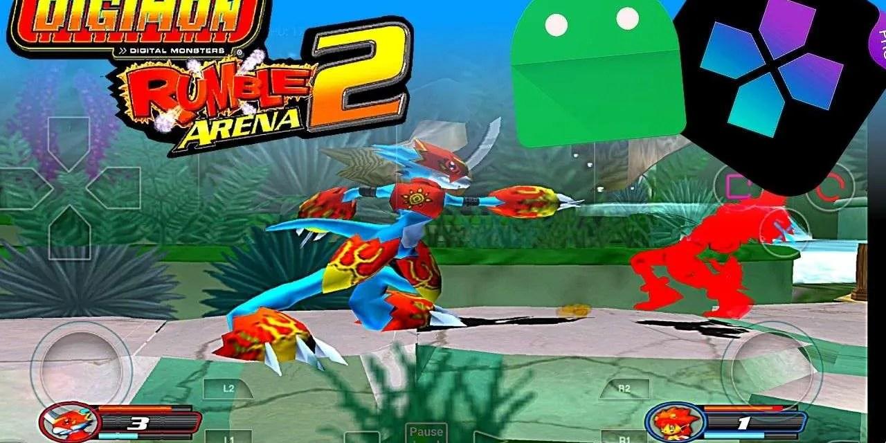 Download Digimon Rumble Arena 2 APK DATA OBB – Damon Ps2 Pro