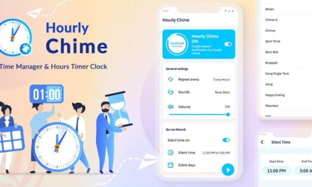 Hourly Chime: Time Manager & Hours Timer Clock Android