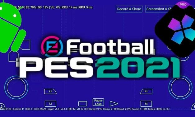 eFootball Pro Evolution Soccer 2021 APK – Damon Ps2 Pro