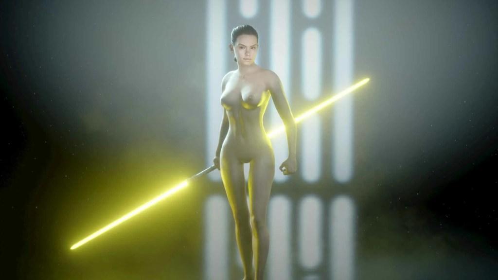 Rey nude mod