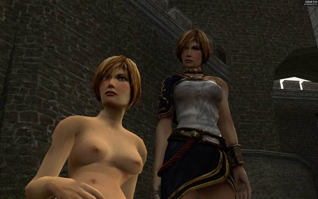 Dark Messiah of Might and Magic Leanna NUDE MOD