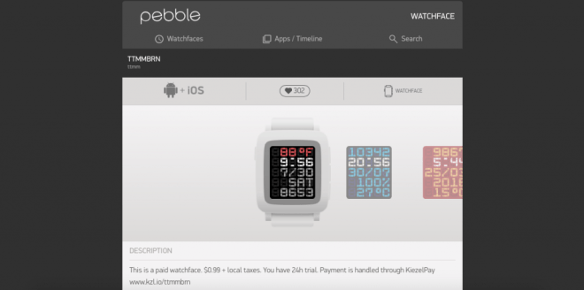 Pebble-Watchface
