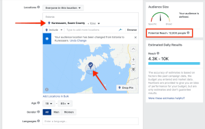 Facebooki reklaam