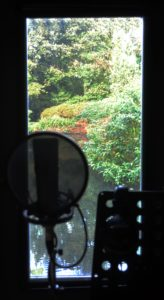 The most peaceful place to sing in the world. View from the vocal room at Real World Studios. Photography by Rachel Matz.