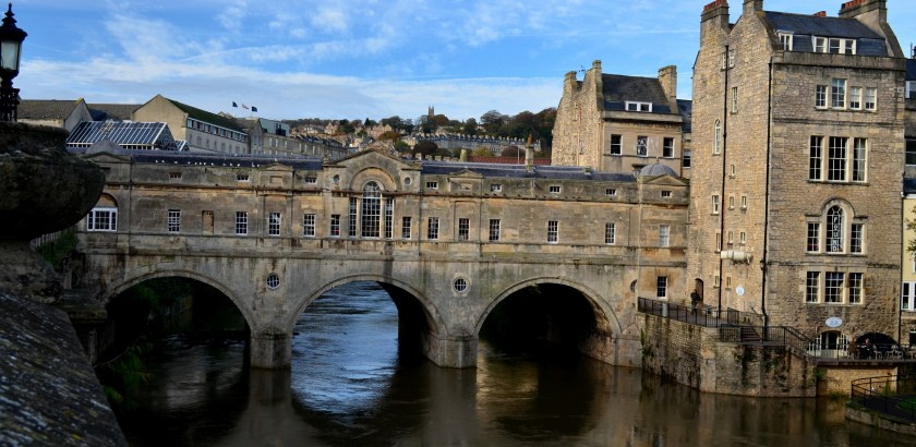 Bath Bridge England with Null Paradox. Photography by Tom Libertiny.