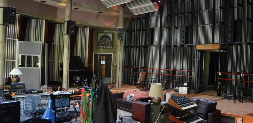 "Real World Studios ""The Big Room,"" England with Null Paradox. Photography by Tom Libertiny."