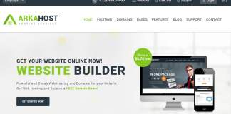 ArkaHost Full HTML Responsive Hosting Template Download