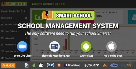 Smart School Management System Nulled PHP Script