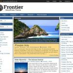 Frontier WordPress Theme Free Download