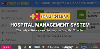 Smart Hospital Management System Nulled