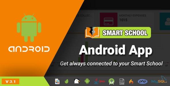Smart School Android App - Mobile Application for Smart School Script