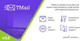 TMail Multi Domain Temporary Email System Nulled Script
