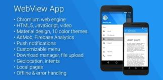Universal Android WebView App Nulled