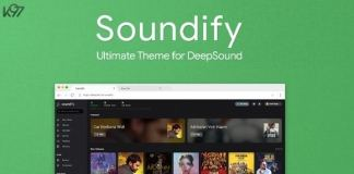 Soundify The Ultimate DeepSound Theme